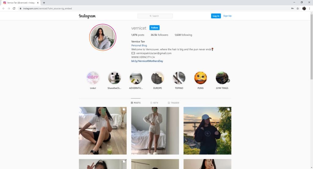 strategi pemasaran influencer media sosial instagram vernicet